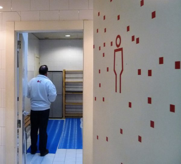 creu roja dutxes