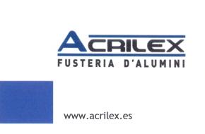 (a)Acrilex Fusteria D'Alumini