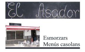 Bar Restaurante El Asador