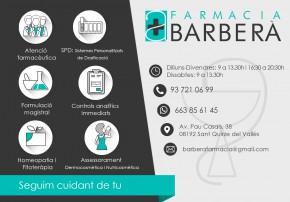 (b)Farmàcia Barberà